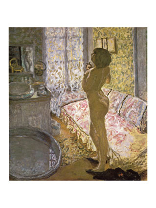 Pierre Bonnard - Nude against the light