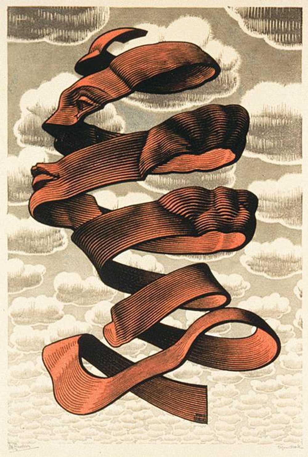 Escher,M.C.-Rind-1955