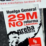 Foto Dick Emanuelsonn Euskal Herria en huelga