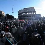 Roma bella e ribelle splende nel sole (AM)