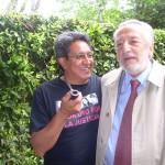 Il Dr. Adrián Ramírez (Limeddh) con l´Avvocato Mario Lana, presidente dell´Unione Forense per la Difesa dei Diritti Umani . Roma maggio 2010